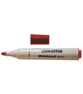 Rotulador pizarra rojo punta conica 2,5mm mattio 49537