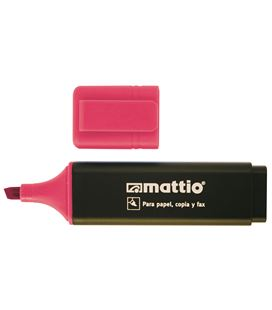 Marcador fluorescente rosa mattio 49553