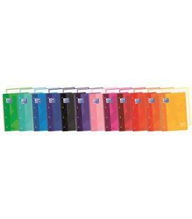 Cuaderno espiral a4 5x5 80h 90grs t/e/d naranja oscuro oxford 400040982 - 170721