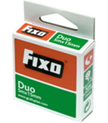 Cinta adhesiva doble cara 5m x 30mm invisible duo grafolioplas 75600600 - GP75600600