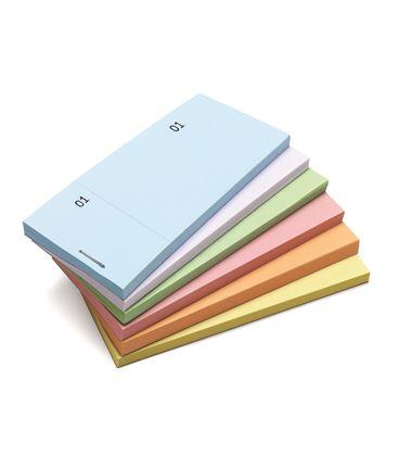 Talonario mostrador 50x110 mm tl07 amarillo con matriz liderpapel 21851 - 21851
