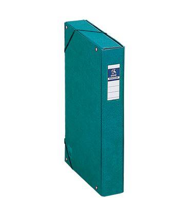 Carpeta proyectos 5cms verde carton forrado office dohe 09730 - 09730