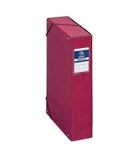 Carpeta proyectos 7cms rojo carton forrado office dohe 09737