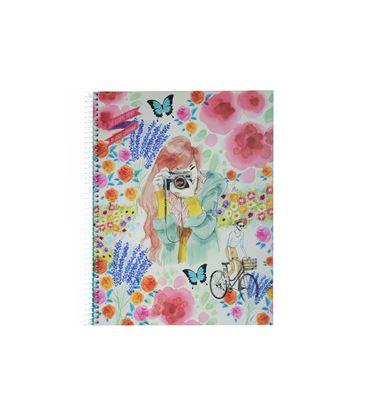 Cuaderno a4 4x4 120h 70grs floral jl miquelrius 47688 - 38230