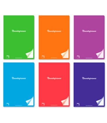 Cuaderno grapa fº 4x4 48 hojas 90grs pacsa 20080 - PC20080