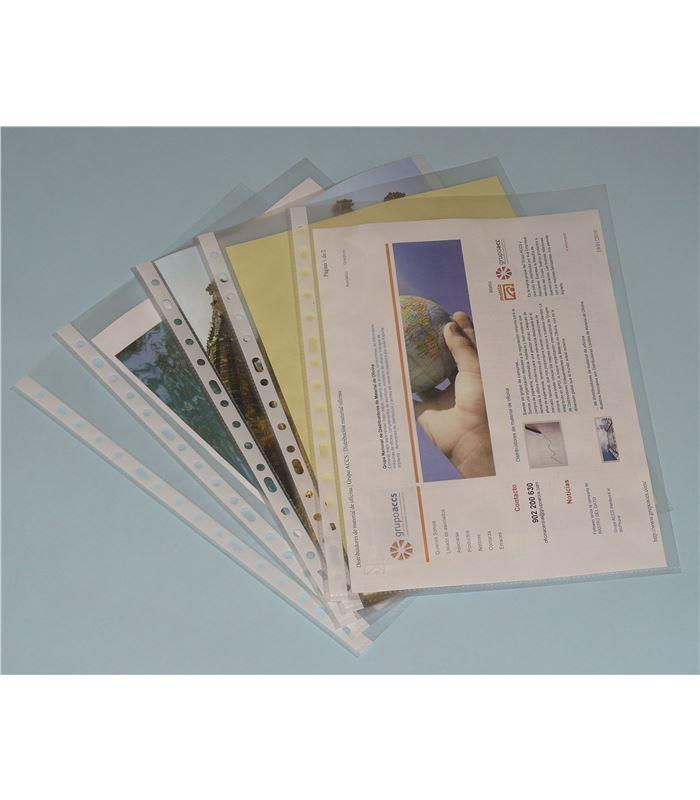 Folio 90490 DOHE Basic Pack de 100 Fundas multitaladro