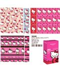 Papel regalo 70cmsx2mts hello kitty montichelvo 30447 30448 - 30448
