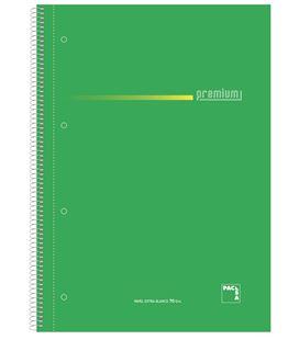 Cuaderno fº pauta 2,5 100h 70grs surtido premium pacsa 16384 - 113960