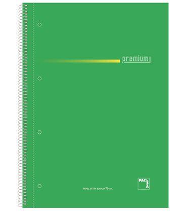 Cuaderno folio pauta 2,5 100h 70grs surtido premium pacsa 16384 - 113960