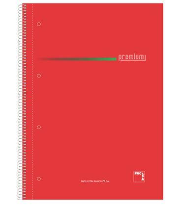 Cuaderno folio milimetrado 100h 70grs sur. premium pacsa 16399 - 113961