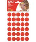 Gomet bolsa circulo pequeñp 10,5mm rojo 6h apli 13229 - 112374