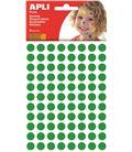 Gomet bolsa circulo grande 20mm verde 6h apli 13228 - 112379