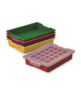 Cubeta pequeña sin tapa rojo faibo 784 - 113549