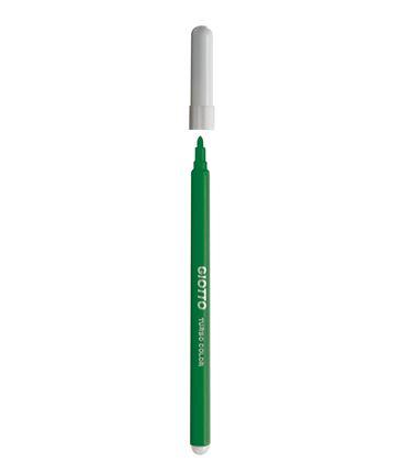Rotulador escolar verde claro turbo color 12u giotto 485018 - 114171