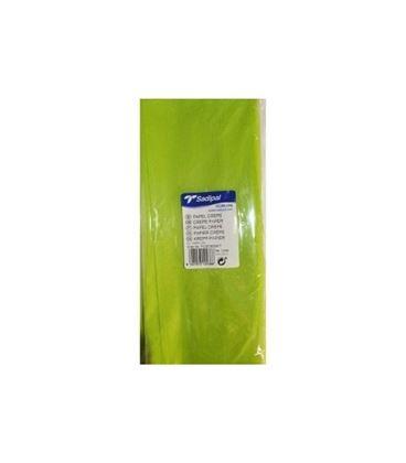 Papel crepe pinocho 2,5mtsx0,5mts verde lima sadipal 12436 - 113691
