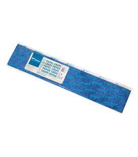 Papel crepe pinocho 2,5mtsx0,5mts azul metal. sadipal 11402