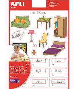 Gomet bolsa etiquetas ingles casa 3h apli 12989 - 112370