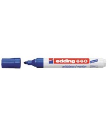 Rotulador pizarra blanca azul edding 660-03 - ED66003