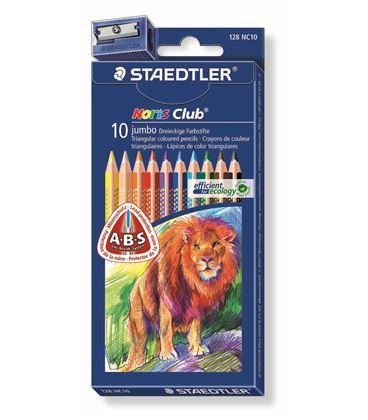 Pintura madera jumbo noris club c.10 staedtler 128 nc10 - 128 NC10