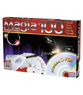 Juego educativo magia 100 trucos dvd falomir 1060