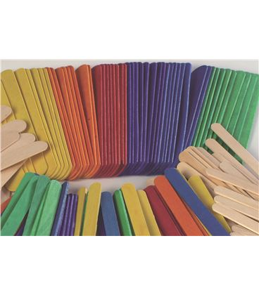 Palillos polo color 100u. niefenver 0700101 092394 - 112116