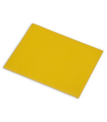 Carton ondulado 50x70cm amarillo 5u. sadipal 05918 - 113862
