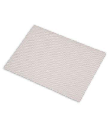 Carton ondulado 50x70cm blanco 5u. sadipal 05914 - 113858