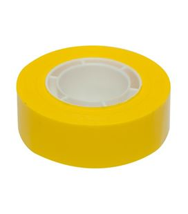 Cinta adhesiva 19mmx33m amarilla apli 12274