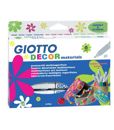 Rotulador multiples superficies giotto decor fila 453304 - 114236