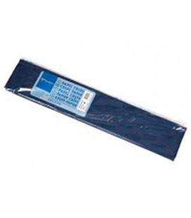 Papel crepe pinocho 2,5mtsx 0,5mts azul fuerte sadipal 12406