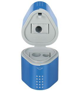 Sacapuntas tres usos rojo/azul grip 2001 faber castel 183801