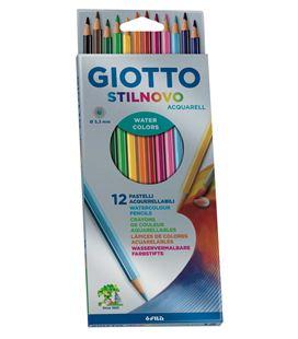 Pintura madera stilnovo acquarell giotto 12u. fila 255700 - 111460