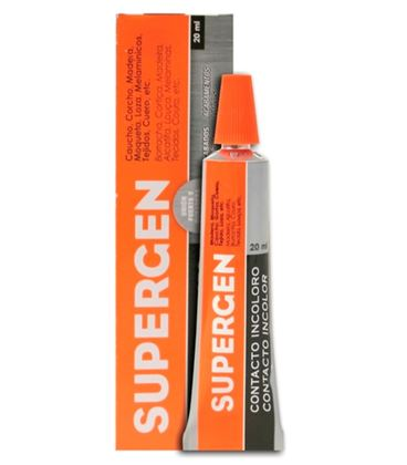 Pegamento liquido contacto 20grs supergen tesa 62600-03 - 62600-03