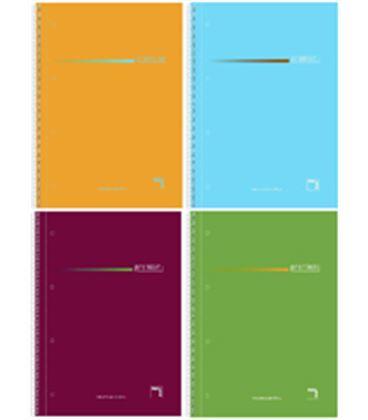 Cuaderno a4 5x5 160h 70g microp. 4t pacsa 16403 - PC16403