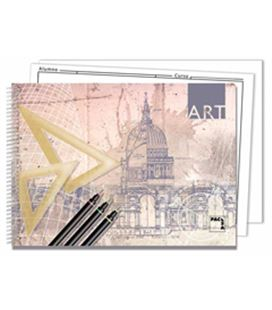 Cuaderno dibujo fº prol. 20h 140grs 2t con recuadro pacsa 18848