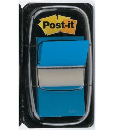 Marcapaginas azul 50uds post-it 680-2 - 170157