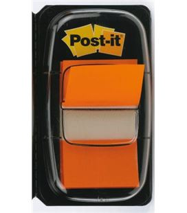 Marcapaginas naranja 50uds post-it 680-4
