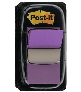 Dispensador 50 index 1. violeta post-it 3m 680-8