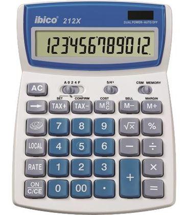 Calculadora sobremesa 12 digitos 212x ibico ib410086 - 110989