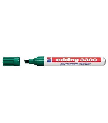 Rotulador permanente biselada recarg verde edding 3300-04 - 191041