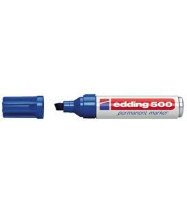Rotulador permanente biselada recarg azul edding 500-03 - 190999