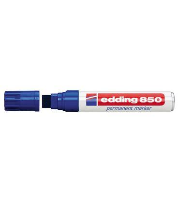 Rotulador permanente biselada recarg azul 850 edding 850-03 - 191021