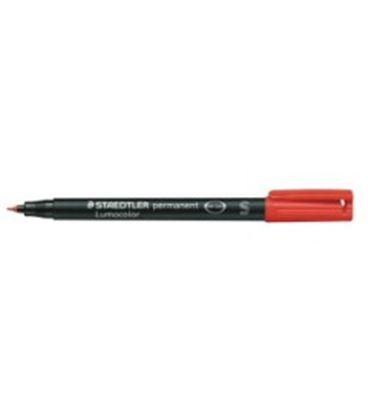 Rotulador permanente rojo lumocolor 313 s staedtler 313-2 - ST3132