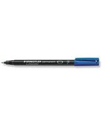 Rotulador permanente azul lumocolor 318 f staedtler 318-3 - ST3183