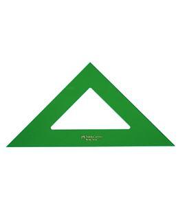 Escuadra 25cms verde faber cast 566-25