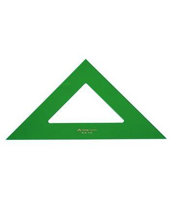 Escuadra 25cms verde faber cast 566-25 - 230031