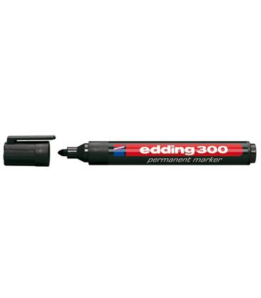 Rotulador permanente 300 punta conica recarg negro edding 300-01 - 190969