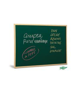 Pizarra verde tiza m/madera 503-40x60 faibo
