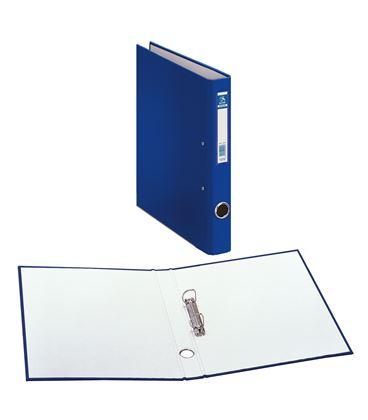 Carpeta 2 anillas folio 25mm carton foliorra. ofi. azul dohe 09421 - 09421
