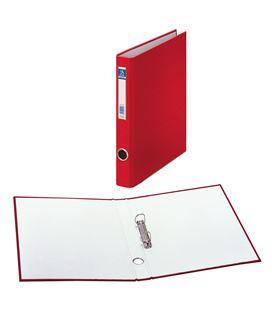 Carpeta 2 anillas fº 25mm carton forra. ofi. rojo dohe 09422